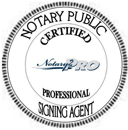 NSA Logo Professional signing agent certification